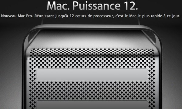 Mac Pro 12X3,46Ghz/ 64Go/ SSD 1To/ AMD 3Go/ USB3
