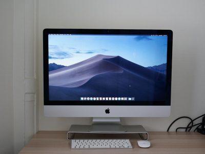iMac 27'' fin 2013, i5 3,4 GHz, 16go RAM, 3to FD
