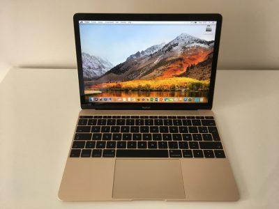 "MacBook Retina 12"" Core M 1,3Ghz – SSD 512Go – 8Go"