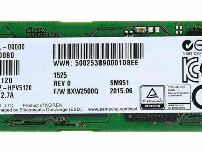 Neuf: SSD Samsung SM951 AHCI Boot Tous Mac
