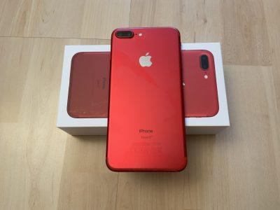 iPhone 7 Plus 128 Go rouge