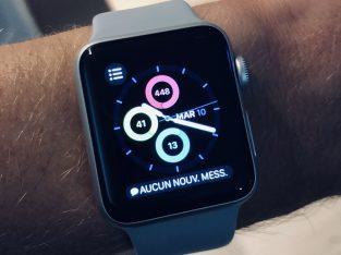 Apple Watch séries 3 38mm argent