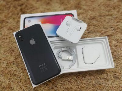 iPhone X 64 Go Gris sid- Neuf (Echange AppleCare+)