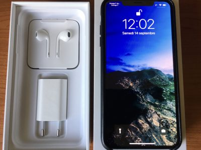 iPhone XS Max 64Gb gris sidéral