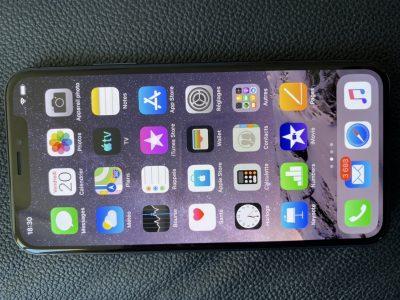 iPhone X gris sidéral 256 Go