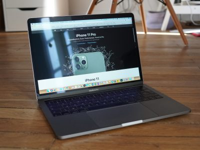 MacBook Pro 13 2,9 Ghz, 8Go de RAM, 512 Go SSD