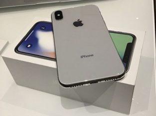 iPhone X Argent 256go