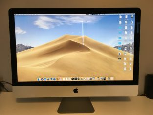 iMac 27″ 5K 2017 i5 3,8GHz, 24Go, 2To, AppleCare