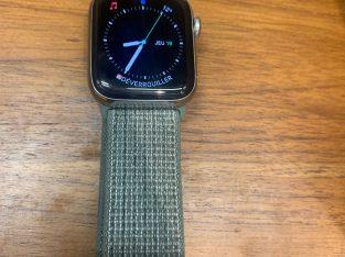 Apple Watch 4 Acier Inox 40mm – GPS + Cellular com