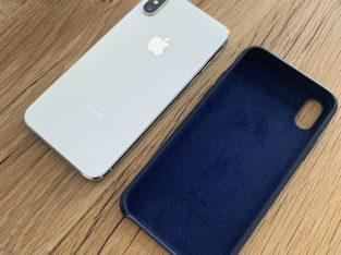 IPHONE X Argent 256gb / accessoires neufs
