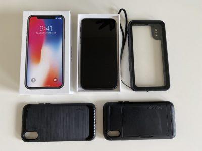 Iphone X 256Go tt opérateur état impeccable