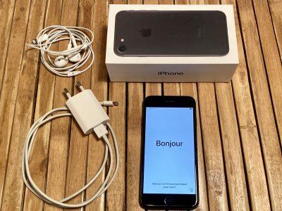 iPhone 7 noir 128Go