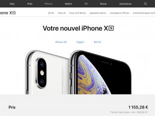 iPhone XS Blanc 64 Go Sous garantie