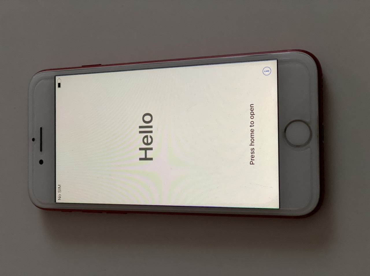 Iphone 7 RED 128 Go