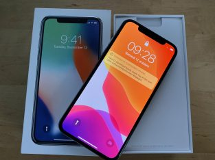 iPhone X Silver Argent 64GB