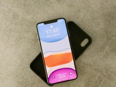 Iphone XS Max 256 GO Argent + 3 coques