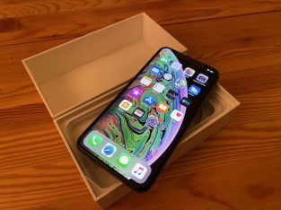 iPhone Xs Max Gris Sidéral 256 Go – neuf