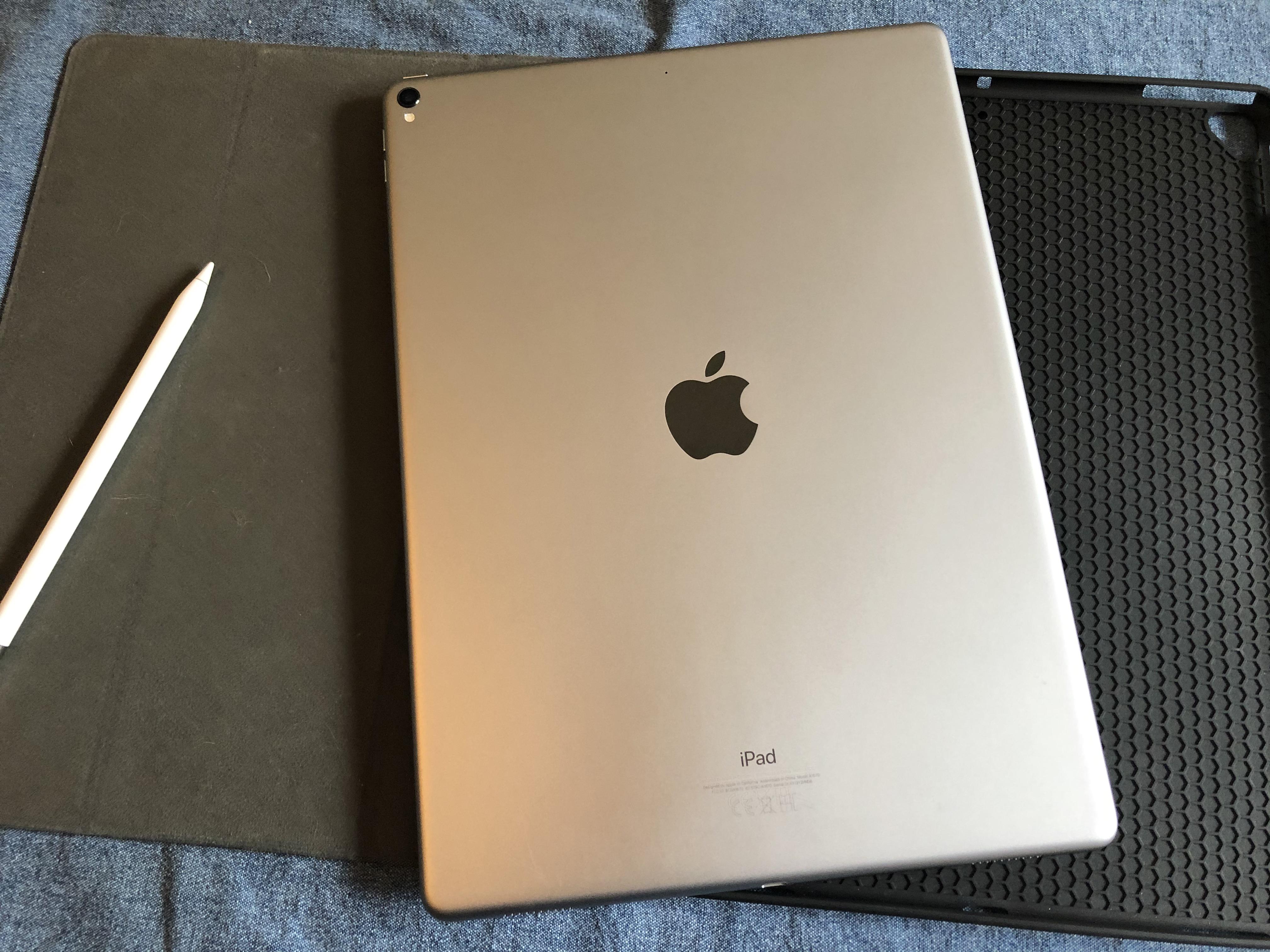 IPAD PRO 12.9″ 2017 Gris Sideral + Apple Pencil