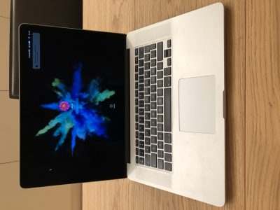 Macbook Pro 15′ (Mi 2012) 512Go SSD, Core i7, 8Go