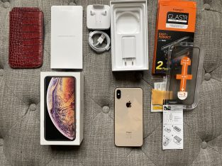 Vends iPhone XS Max Or 64 gb, excellent état.