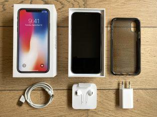 iPhone X 256 Go Gris Sidéral