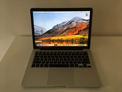 MacBook Pro Retina 13″ Core i5 2,5Ghz SSD256Go 8Go