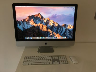 iMac Slim 27″ Core i7 3,5Ghz – HDD 3To – RAM 32Go