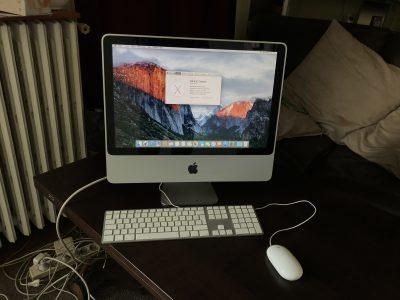 iMac 20 pouces SSD 480Go