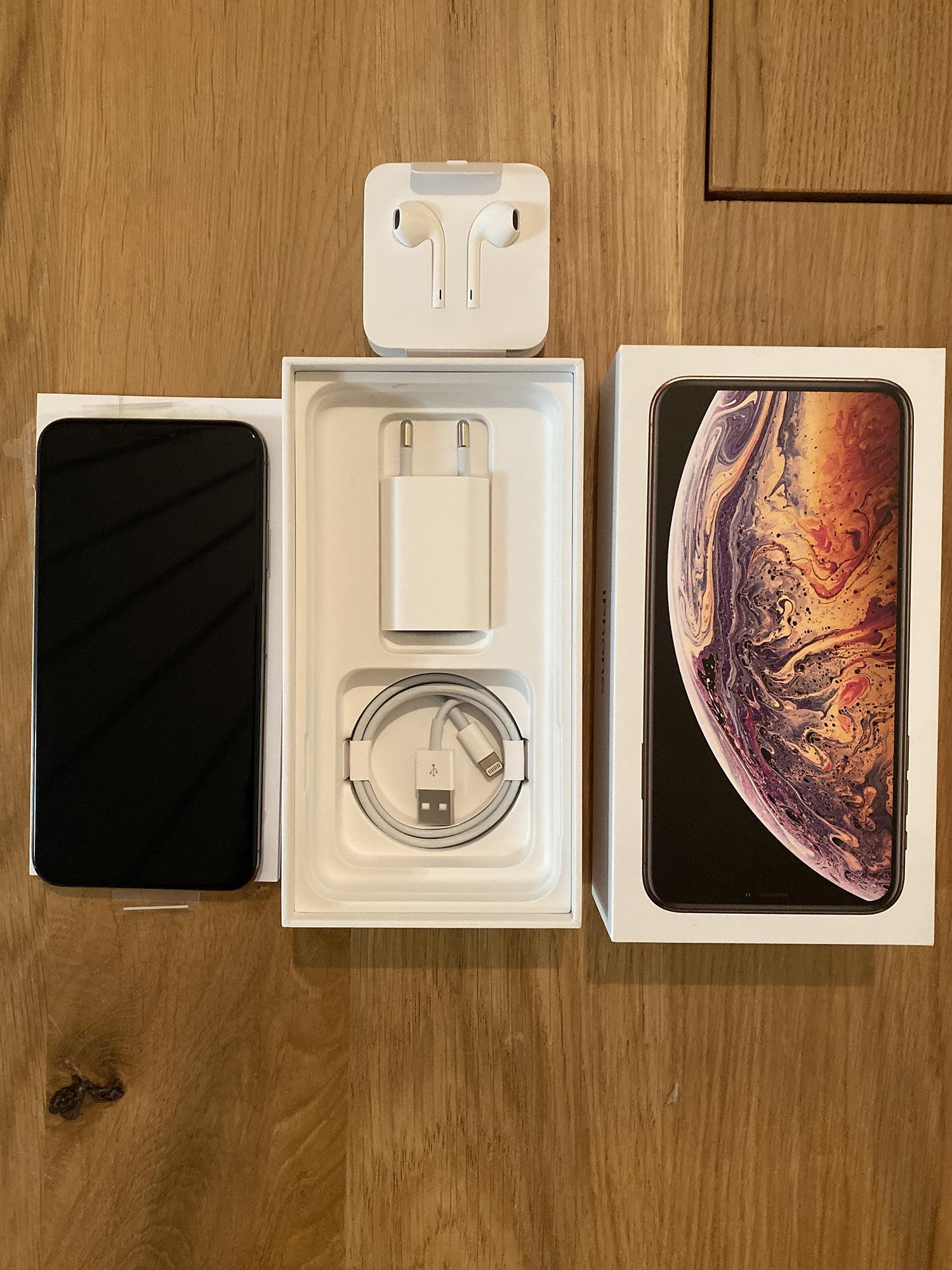 iPhone XS Max 256 Go Gold
