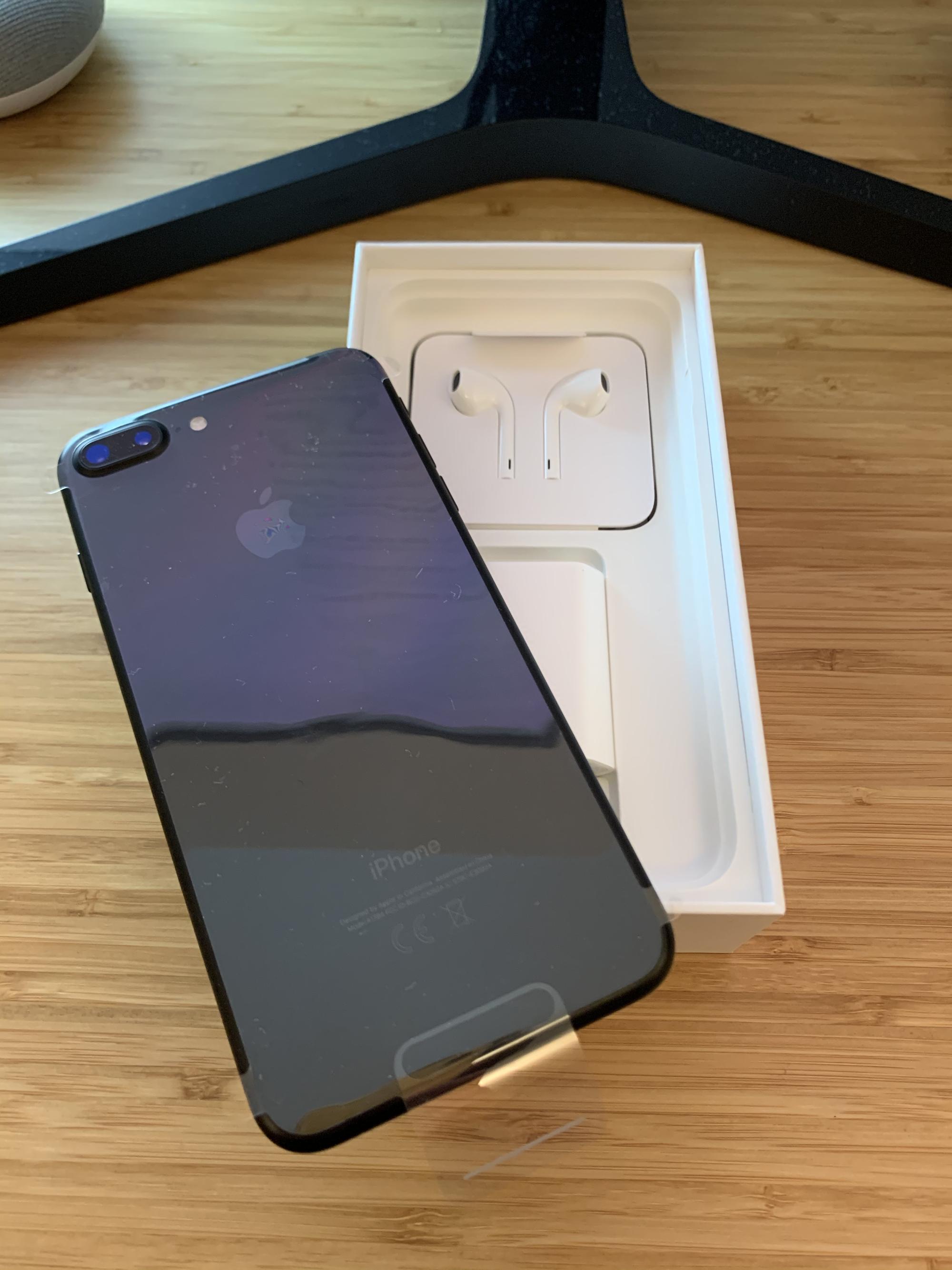 IPhone 7 Plus 32 Go – Noir – Débloqué – Neuf
