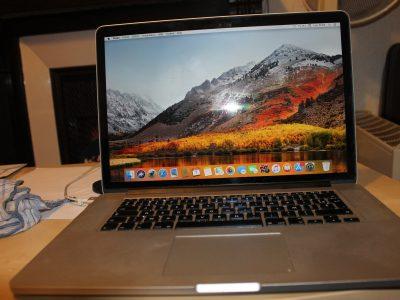 MacBook pro fin 2013