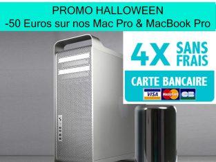 PROMO MAC PRO & MACBOOK PRO – Paiements en 3 ou 4X