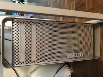 Apple MacPro 2008 8 cores 2×2.8 Ghz boosté