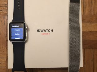 Apple Watch série 3 gps + cellular 38mm