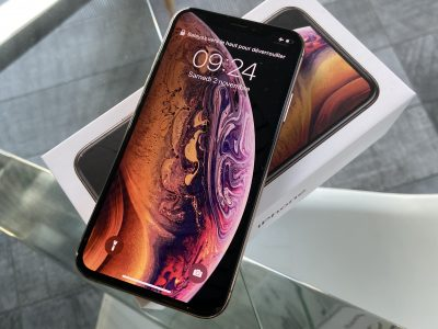 iPhone XS gold or rose 256 gigas sous garantie