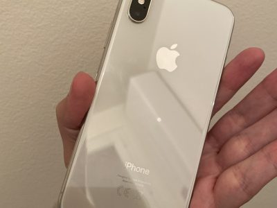 iPhone X 64g argent