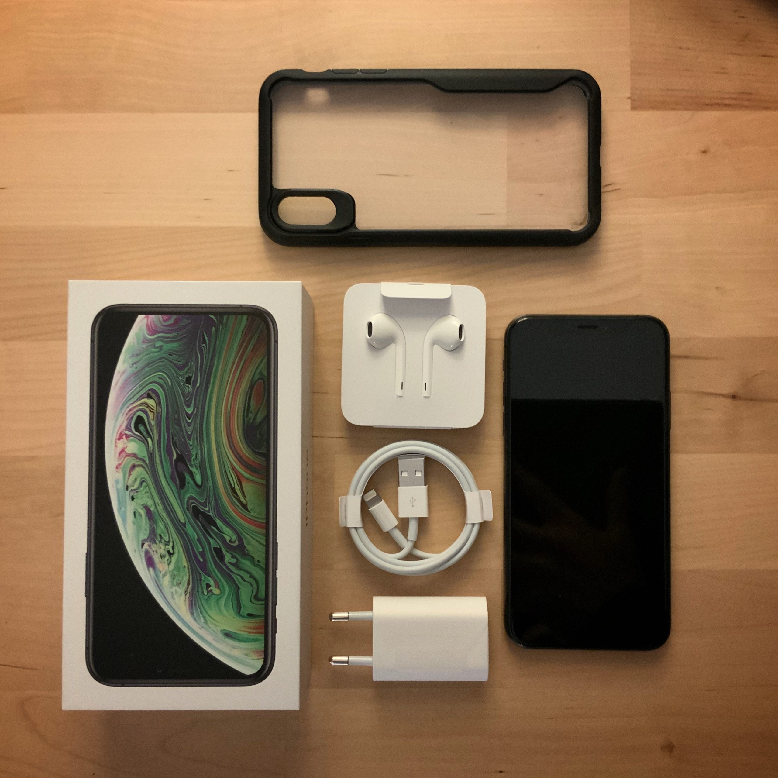 iPhone X 256 go Gris Sidéral État Neuf