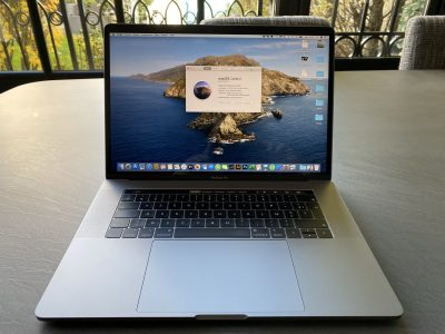 MacBook Pro 15 2019, 2,3GHz i9, 16gb, 512gb