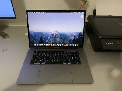 MacBook Pro 15 / i7 2.6Ghz / 512Go SSD / 16Go RAM