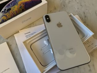 iPhone XS argent – 256Go comme neuf