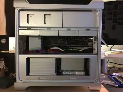 Mac Pro 2010 5.1 2X3,33Ghz 1080 TI 11Go 32Go RAM