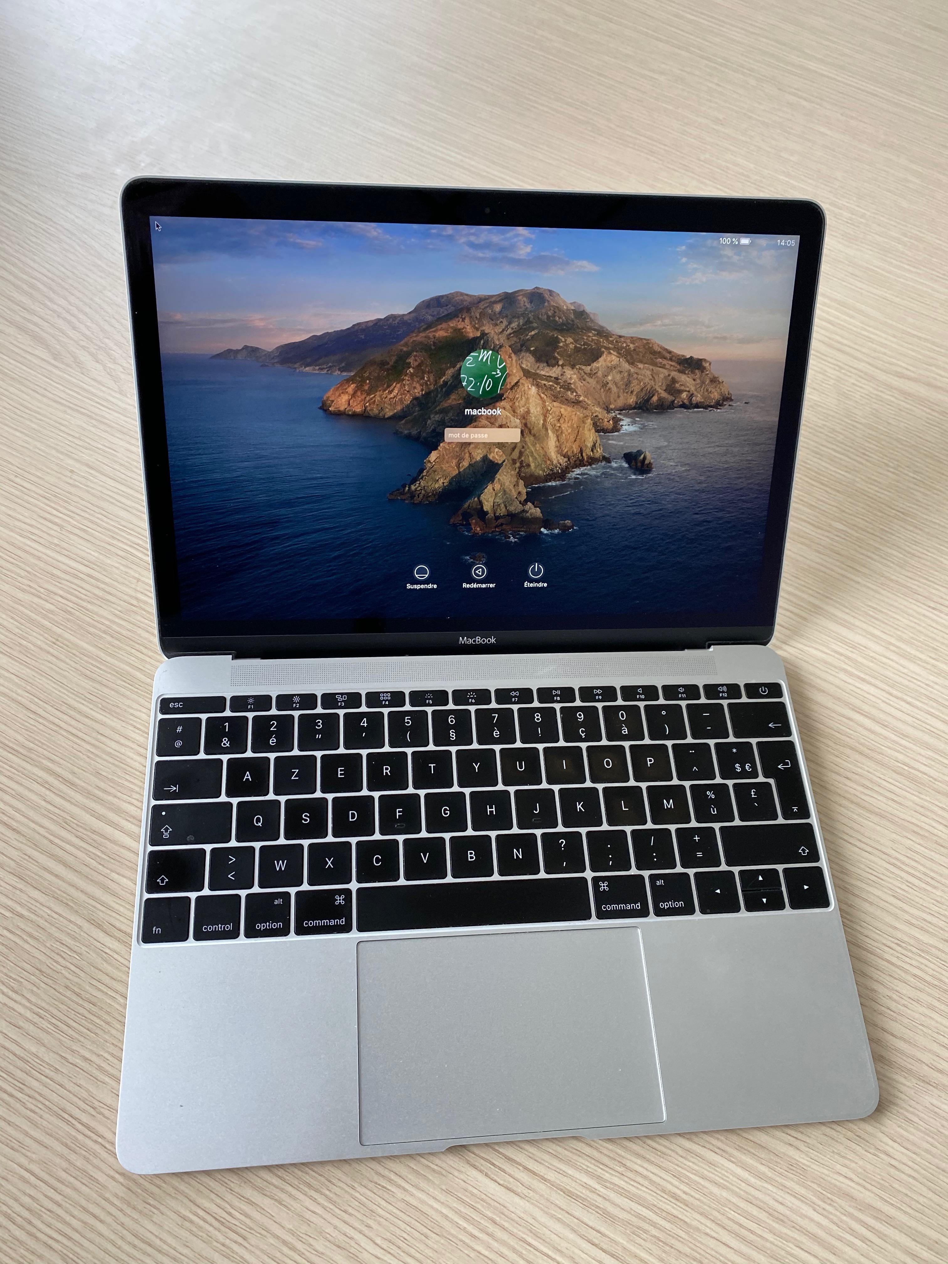 MacBook 12, 8Go, 512Go, AppleCare