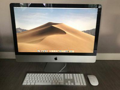 «A SAISIR» – iMac 27″ Intel Core i7 / 3,4 GHz / OS