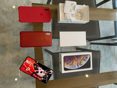 Vends iPhone XS Max 256Go Silver TBE