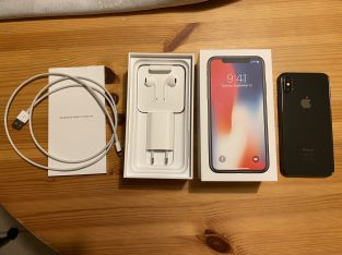 Iphone X – 256 Go – Gris sidéral