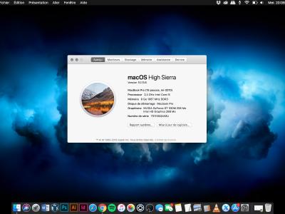 Macbook Pro mi-2010 15