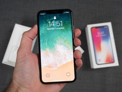 Apple iPhone X – 64 Go – Gris Sidéral