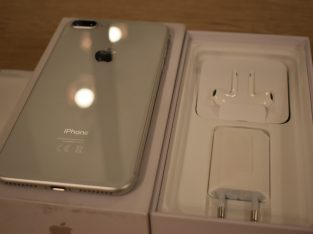 iPhone 8 Plus 256 go état neuf garantie fin 2021