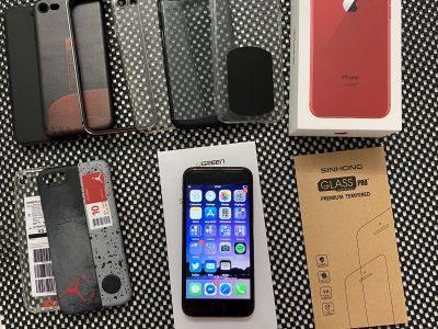 iPhone 8 red édition 64go avec accessoires