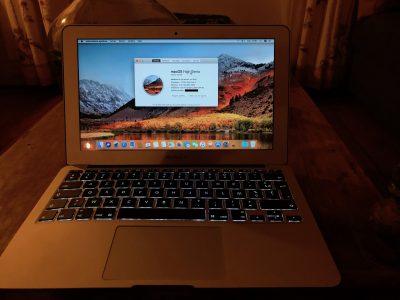 Macbook air 11 mi-2011